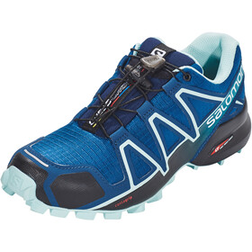 Salomon Speedcross 4 Sko Damer, poseidon/eggshell blue/black